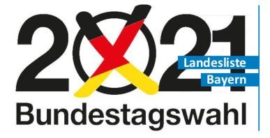 Aufstellungsversammlung für die Bundestagswahl 2021 in Augsburg
