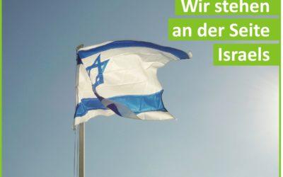 Wir stehen an der Seite Israels!